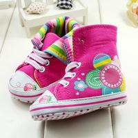 Free Shipping Girls Shoes Wholesale 3pairs/lot Baby Shoes for First Walkers, Soft Sole Anti-Skidding Sneakers for Bebe
