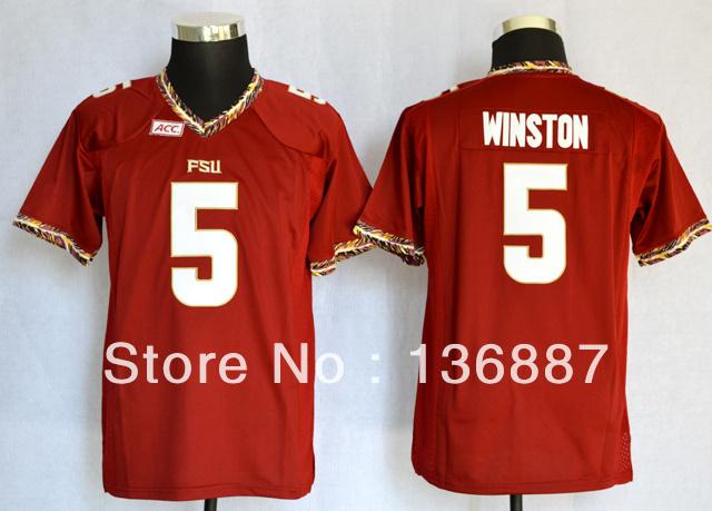 2014 New Style,Kids Florida State Seminoles (FSU) #5 Jameis Winston,Cheapest Sportest College Football Jerseys,Youth Mix Order(China (Mainland))
