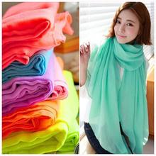 plain cotton scarf promotion