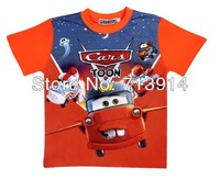 Free Shipping new kids boys baby girls cotton cartoon t shirt anime cars planes T-shirt,cartoon boys short sleeve t shirts child