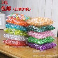High quality acrylic crystal stone multicolour stone bag 182 tank vase decoration props