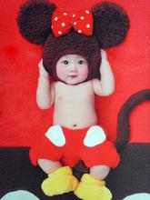 Grátis frete novo 2013 roupas fotografia infantil bebê imagens de roupas de Mickey Mouse Minnie Mickey(China (Mainland))