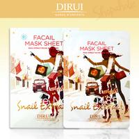 6pairs=1bag/lot Free shipping Dirui snail liquid mask #2 pleiotropic whitening freckle acne single
