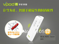 New Phone 2600mAh powerbank hot cloud storage multifunctional portable router WiFi mobile hard disk  wireless laser pen