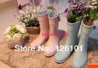 free shipping,2014 fashion rain boots women rainboots,woman water shoes Middle Tube rainboots women short boots