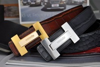 New Free shipping 2color Men and  women unisex genuine leather belts high quality waist belt hot selling cowskin fashion