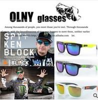 wholesale freeshipping HELM colorful dazzling multicolor reflective sunglasses fashion sunglasses, sport sunglasses personality