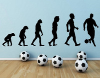 Banksy Football PRO Evolution - Large Wall Decoration Size 40cm x 120cm Free Shipping Wall Sticker Art Stickers
