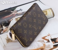 WHOLESALE MEN'S WOMEN'S WALLET ZIPPER WALLETS PURSE N60017