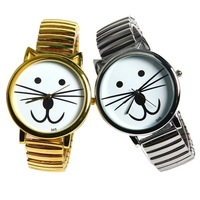 Personality kitten whiskers fashion cute kawaii vintage cat item new design for women men child girl hour gift