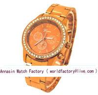 "Annasin ""15% OFF"" FEDEX/UPS/DHL Free Shipping Model 1862amk watch Geneva brand watch Much Colors Hot Sales High Quality"