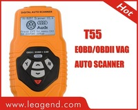 support newest UDS auto scan tool Trouble Code Scanner T55,UDS scanner for Audi
