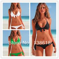 Holiday Sale 2014 Summer VS Push Up Padded Bikinis Set Swimwear For Women Sexy Victoria Swimsuits Beachwear The Bathing Suits