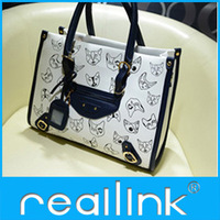 Reallink free shipping Female leisure bags printing  large handbag shoulder bag