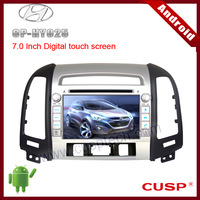 Android CP-HY025 car CD player with car gps navigation,and supports  WIFI,3G,Bluetooth,IPOD,SD for HYUNDAI SANTA FE 2007-2012