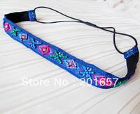 Wholesale and Retail korea style vintage bohemian sewing beads flower shape headbands hiar accessories 12pcs/lot