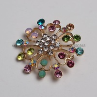 (12pcs mixed /lot ) VTG STYLE RHINESTONE CHRISTMAS HOLIDAY GIFT TREE BROOCH PIN~PARTY FAVOR~YOU PICK
