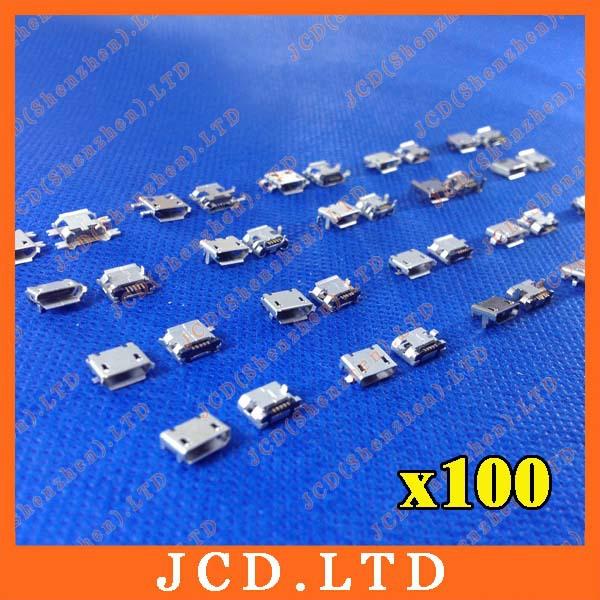 Micro USB 5P,5-pin Micro USB Jack,5Pins Micro USB Connector Tail Charging socket(China (Mainland))