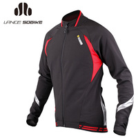 Sobike autumn and winter bicycle ride clothes long-sleeve fleece outerwear Men windproof thermal