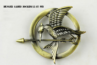 4pcs/lot New Arrival Hunger Games bird Brooch Pin for men and women