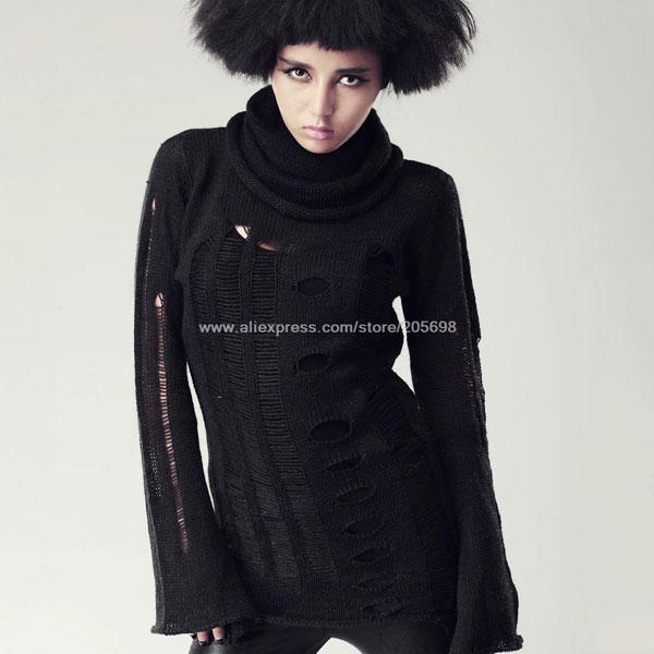 Punk Sweater Dress Punk Sweater Long Dress