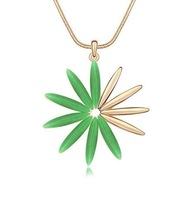 High Quality Brand new arrival  fashion opal flower necklace women jewelry wholesale pendant necklaces 2013