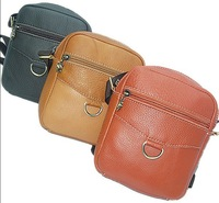 Factory price! Men Messenger Bag 100% Genuine Leather Women Vintage Messenger Bag Cowhide Leather  Handbag YT158