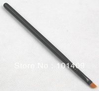 Newest Nylon Hair Wood Handle Angled Eyebrow Brush