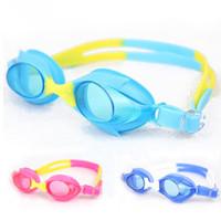 2012 anti-fog swimming goggles 3 - 10 baby child swimming glasses heatshrinked 111
