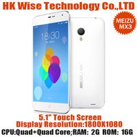5.1 inch MEIZU MX3 Octa Core Smartphone  MEIZU MX3 2GB RAM 16GB ROM Flyme3.0 Micro SIM 8.0MP WiFi Bluetooth