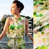 Free Shipping Digital Printed  Elastic Silk Satin Fabric For Silk clothes cool summer fabric
