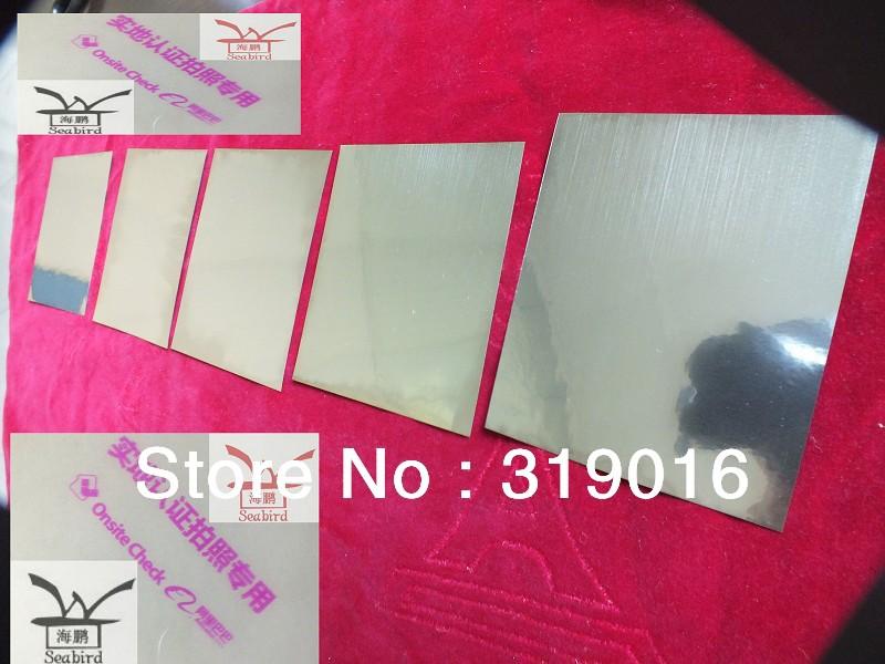 Nitinol Sheet Stock Nitinol Sheet 1 1 0 05 x 300