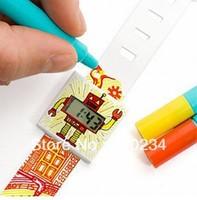 10 piece kids SUCK UK Paper watch digital DIY waterproof doodle paper watchband Christmas gift