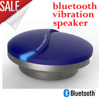 mini portable Bluetooth vibration speaker Patent technology, 2013 brand new, make your table sing!! free shipping by singapore