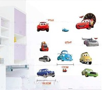 wall stickers home decor  Cars 2 World Grand Prix, free shipping