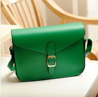 2014 Brand New Women Shoulder Bag PU Leather Girl Messager Bags Handbags Antique Style 11 Colors