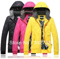Free shipping!Winter jacket winter coats women cultivate one's morality even cap cotton-padded jacket cotton coat