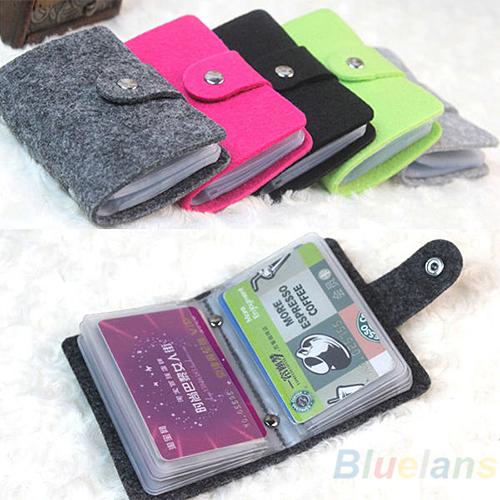 Vintage Womens Men Pouch ID Credit Card Wallet Cash Holder Organizer Case Box Pocket Passport Cover 01HA(China (Mainland))