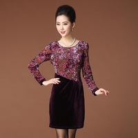 Edhi iam27 autumn bertha 2013 ancient one-piece dress