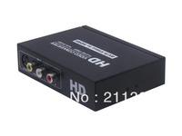 Fast shipping AV CVBS Or S-Video + R/L To HDMI+3.5mm Audio Converter