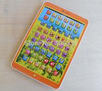 Pink orange  Blue black Children Learning Machine Spanish & English Language Kids Educational Toys