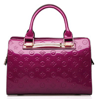 For oppo   bags women's handbag 2013 fashion japanned leather embossed female handbag messenger bag 9839 - 2