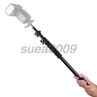 Aluminum Alloy Handheld Hand Held Grip Rig Support Rod Flash Light Speedlite Microphone Holder