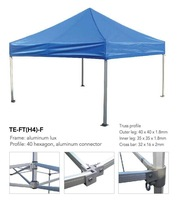 Free Shipping-Aluminum Pop up tent canopy-luxury type, 40mm hexagon