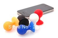 200pcs,Universal colorful Cellphone Stand Sucker Holder Octopus type fits for cellphone,table PC,PSP,MP3,MP4 mixedcolor