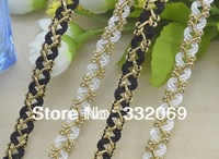 30 X Factory DIY Designer Braid Curved Lace Ribbon Crocheted for Clothes Decoration Sewing Accessories 1cm Free Shipping