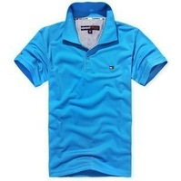 Size large inventory of good quality men's short-sleeved T-shirt men's polo shirts free shipping to all over the world