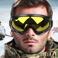 2014 New Men&Women Skiing Goggles Ski Eyewear Anti-UV Outdoor Sports Sunglasses Anti-Dust Glasses Snowboarding protection Goggle