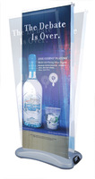 Free shipping-Portable Double-sided roll up banner Poster Banner stand, with waterbase