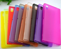 Ultra Thin PC Matte Case for Sony Xperia Z1 L39h SO-01F C6902 C6903 Cases Soft Gel Phone Cover Housing 10pcs/lot